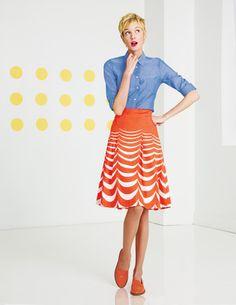 Boden - Riviera Skirt