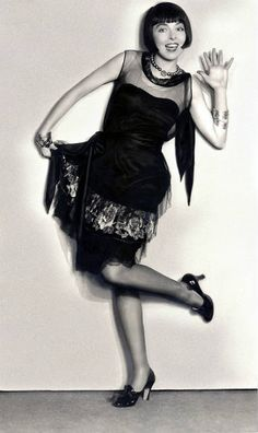 Colleen Moore was probably the earliest film actress to be typecast as a flapper.