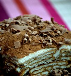 SinFoodie : For the love of Cooking: Marie Biscuit Tiramisu