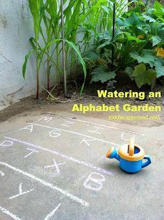Summer Outdoor Literacy Preschool Lesson Plan