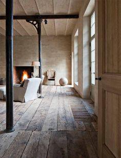 Lovely wood floor.