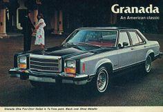 1979 Ford Granada Ghia 4 Door Sedan