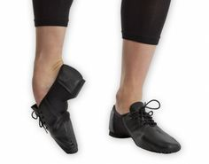 Ref: RV451  Revolution's Stretch Jazz Shoe. Traditional jazz shoe look with added stretch • Premium leather • Arch-hugging spandex for a beautiful arch and point.