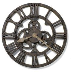 Steampunk Clock | Fun & Fashionable Home Accessories And Decor I found this at Bed Bath & Beyond