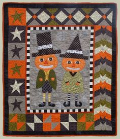 Peter and Penelope Pumpkin pattern at Abbey Lane Quilts