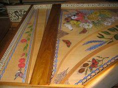 Old Village Paint on Zuckerman Harpsicord!  <3