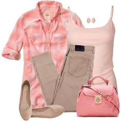"""Pinks"" by daiscat on Polyvore"