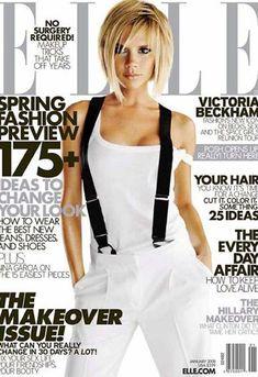 Victoria Beckham. I want this hair!