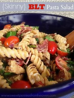 BLT Pasta Salad #sauteexpress #cbias #shop