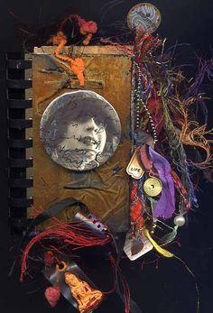 fiber journal, books, art journal, craft, alter art