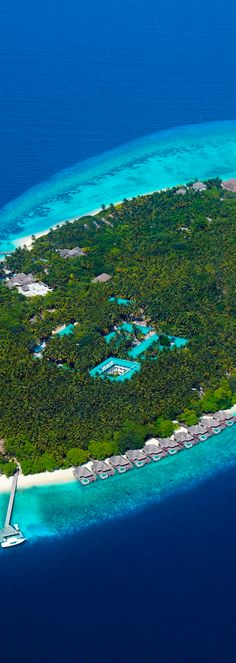 DUSIT THANI...MALDIVES. Is a resort opened by Asia's leading hotel group, Dusit International. The resort is located on the island of Mudhdhoo.