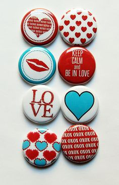 Love 1 Flair by aflairforbuttons on Etsy, $6.00