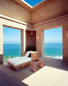 A massage room at Imanta resort, near Punta Mita and some of Mexico's smoothest surf breaks