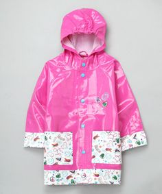 Take a look at this Pink Homeroom Raincoat - Toddler & Kids by Western Chief on #zulily ! #Fall Kids' Essentials!!