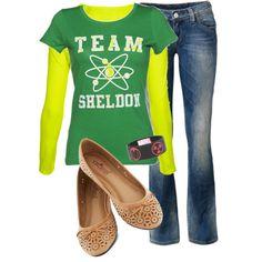 Team Sheldon shirt - omg I want!!!!!!!!!