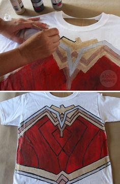 Wonder Woman DIY T-s