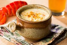 Lobster Brie Soup