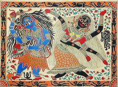 Dance of Shiva and Kali