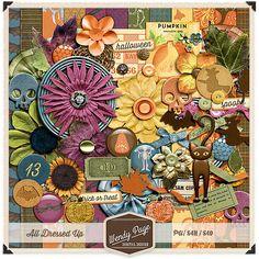 Scrapbooking TammyTags -- TT - Designer - Wendy Page Digital Design , TT - Item - Kit or Collection, TT - Theme - Halloween