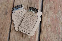 Custom Mason Jar Thank You Note Card // by postscripts