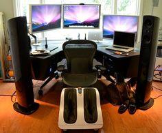 The Mac Pro setup of a CEO