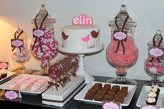 baby shower dessert ideas pink