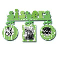 Kappa Delta Sorority Sisters Frame $22.95
