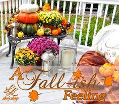 A Fall-ish Feeling | Lovely Livings Blog