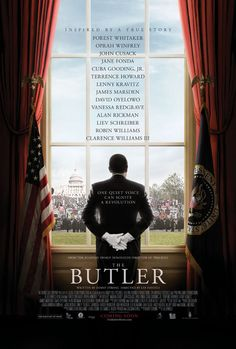"""Inspired by a true story about Cecil Gaines, a devoted husband, father, and White House butler who served eight Presidential administrations during the turbulent politics and civil rights battles of twentieth century America."" Find LEE DANIELS' THE BUTLER in our catalog: http://highlandpark.bibliocommons.com/item/show/2291929035_lee_daniels_the_butler"