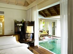 With private pool