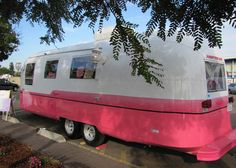 PINK, VINTAGE and READY! 1967 Concession Airstream Trailer