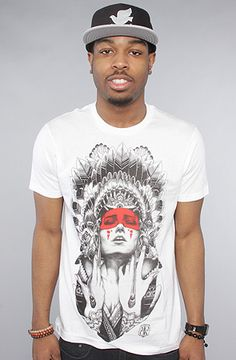 Rook The Night Shade Tee in White, Save 20% off your order with Rep Code: PAMM6