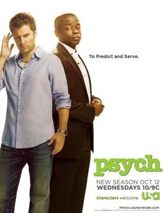 psych love this show, its so funny