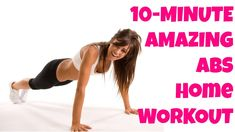 FREE Full Length 10-Minute Abs Workout At-Home Abdominal Exercises