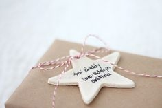 salt dough ornaments and gift tags | a simple project little hands can help with