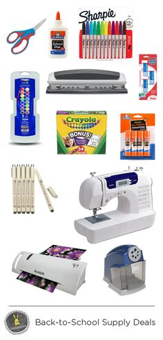 Back to School Supply Deals - TinkerLab
