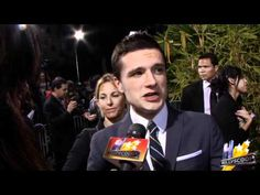"Josh Hutcherson discusses how ""Journey 2"" prepared him for ""The Hunger Games"" and what his Valentine's Day plans are (NEW 2/2/12) Hey Josh. I will be your special lady."