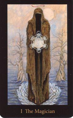Magician from the Mary-El Tarot