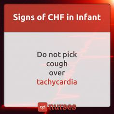 Have you ever fallen for little NCLEX traps? Watch out for signs of CHF in an infant! --- Visit http://qdnurses.com/qdmemes for your daily dose of nursing education! --- #nclex #nursing #nclextips #nclex_tips #nurse #nursingschool #nursing_school #nursingstudent #nursing_student