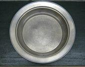 Vintage Pewter Plate