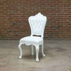 Side Chair White now featured on Fab. POLaRT