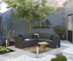 Ext rieur on pinterest - Decoration terrasse exterieur ...