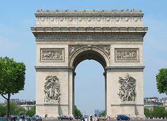 Triumph Arc in Paris
