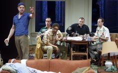 """""""Hot show: 'The Odd Couple' at the Wyly Theatre"""" via dallasnews.com"""
