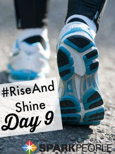 Good morning, everyone! Welcome to Day 9 of our #RiseAndShine #challenge! Just ONE more day to go--let's keep this streak going :) Need an extra boost of #motivation to get you moving tomorrow? Update your playlist with some of our favorite songs to sweat to right now: http://www.sparkpeople.com/blog/blog.asp?post=18_songs_to_pump_up_your_spring_workouts | via @SparkPeople