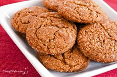 Chewy ginger snap co