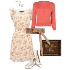 """""""Mary Margaret Blanchard Inspired Outfit"""" by nubslife on Polyvore"""