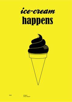 Ice-cream happens.
