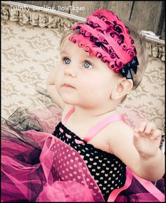 Baby Headband  Baby Girl Curly Feather
