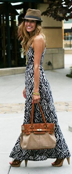 Pretty - Bohemian chic. #fashion #summer